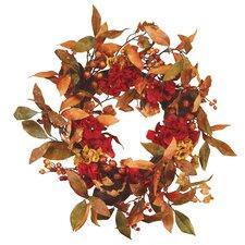 Hydrangea Berry Wreath