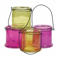 Glass Lantern (Set of 4)
