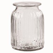 Ribbed Vase