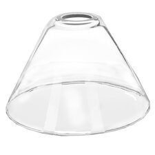 Glass Shade for Metal Lamp Adapters