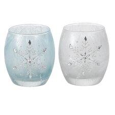 Optic Snowflake Vase