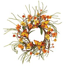 Fall Tiger Lilly Tendril Ropes Candle Ring