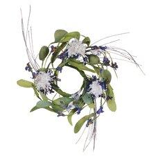 Basket Flower Candle Ring (Set of 2)
