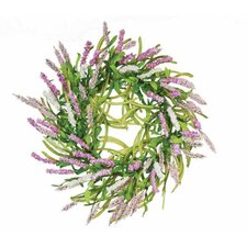 "18"" Sweeping Beauty Delphinium Wreath"