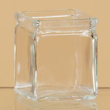 Pressed Glass Tealight Holder