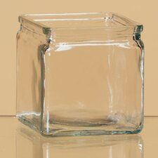 Pressed Square Vase (Set of 4)