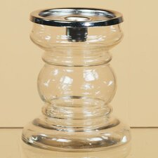 Glass Candlestick