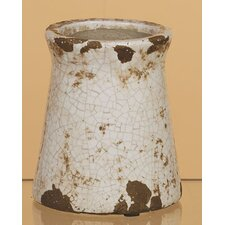 Crackle Ceramic Canister