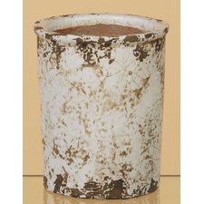 Crackle Ceramic Pot