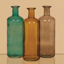 Vintage Inspired Decorative Glass Bottle