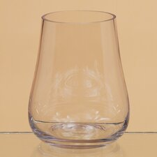 Bell Bottom Glass Vase