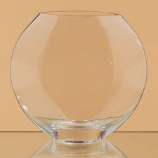 Oval Glass Vase