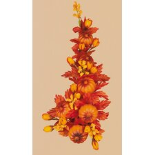 Mini Pumpkins and Fall Leaves Candle climber