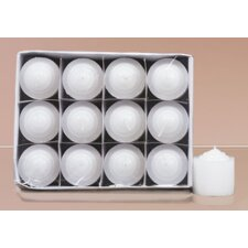 Unscented Votive Candle (Set of 12)