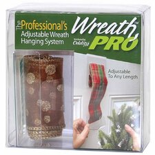 Wreath Pro Adjustable Wreath Hanger