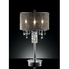 "32"" H 3 Light Glam Table Lamp"