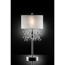 """32"""" H Table Lamp with Glass Bubble Design"""