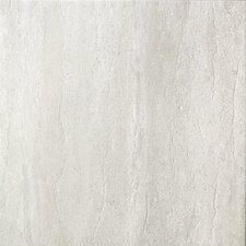 "<strong>Samson Tile</strong> Travertini 16.75"" x 16.75"" Floor and Wall Tile in Grigio (Box of 7)"