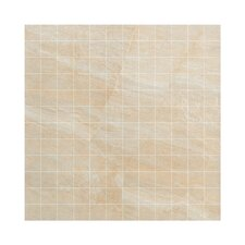 "<strong>Samson Tile</strong> Anthology 12"" x 12"" Mosaic Floor Tile in Beige"