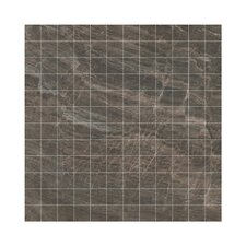 "<strong>Samson Tile</strong> Anthology 12"" x 12"" Mosaic Floor Tile in Brown"