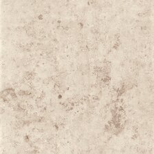 "Jura 16.75"" x 16.75"" Matte Floor Tile in Ivory (Box of 7)"