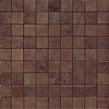"<strong>Samson Tile</strong> Genesis 12"" x 12"" Matte Mosaic Floor and Wall Tile in Moka"