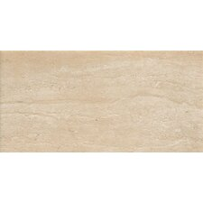 "<strong>Samson Tile</strong> Travertini 18"" x 36"" Matte Floor and Wall Tile in Cream (Box of 3)"