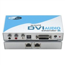 DVI Audio CAT5 Extender