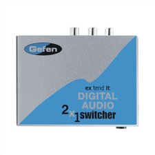 2 x 1 Digital Audio Switcher