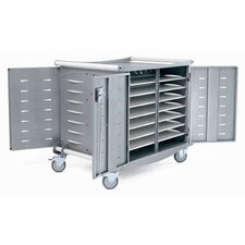 30-Compartment Standard Laptop Charging Cart