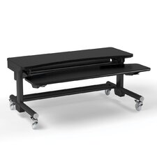 "MoveMore Elevate 60""  Computer Desk with Sitting and Standing Functionality"