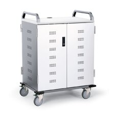 36-Compartment Chromebook Charging Cart