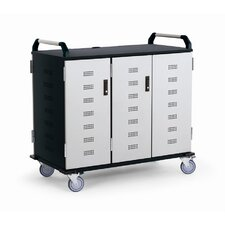 27-Compartment Deluxe Laptop Charging Cart