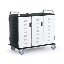 30-Compartment Advanced Laptop Charging Cart