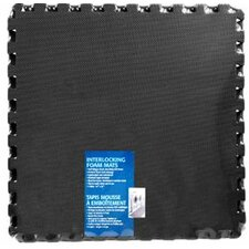 Ultimate Comfort Foam Flooring in Black (Set of 4)