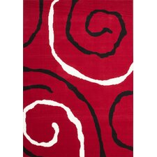 Teppich Funky 153 Rot