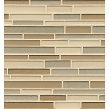 "<strong>Bedrosians</strong> 12"" x 13"" Mosaic Random Interlocking Blends Tile"