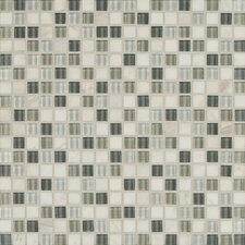 "<strong>Bedrosians</strong> 12"" x 12"" Mosaic Linear Blend Tile in Eternity"