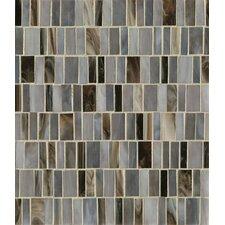 Random Sized Mosaic Pattern Blend Tile in Blue Velvet