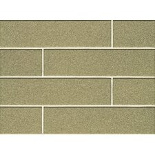 "<strong>Bedrosians</strong> 4"" x 16"" Field Tile Gloss Pistachio Manhattan Glass"
