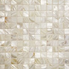 Series Mosaic Liner Tile in Oyster