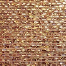 Series Mosaic Liner Tile in Antique Gold