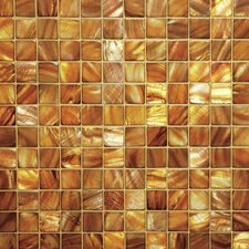 "1"" x 1"" Series Mosaic Liner Tile in Conus Gold"