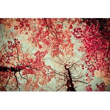 'Nature's Inkblot' by Joy St.Claire Photographic Print on Canvas