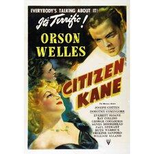 Citizen Kane Framed Vintage Advertisement