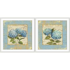 French Country 2 Piece Framed Graphic Art Set