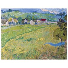 'View of Vessenots Near Auvers' by Vincent Van Gogh Painting Print on Canvas