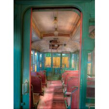 The Spirit of San Francisco Trolley Aisle #665 Graphic Art Canvas