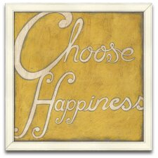 <strong>Epic Art</strong> Choose Happiness Wall Art