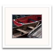 Wooden Rowboats X Framed Graphic Art